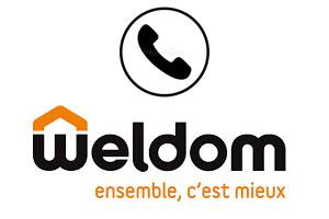 Contacter Weldom par téléphone