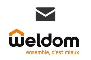 Contacter Weldom par mail