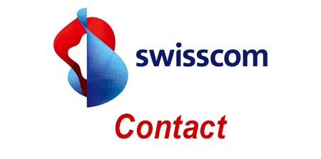 Contacter Swisscom par téléphone, mail et adresse