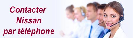 Service client Nissan France téléphone