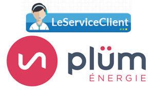 Contact service client Plüm énergie