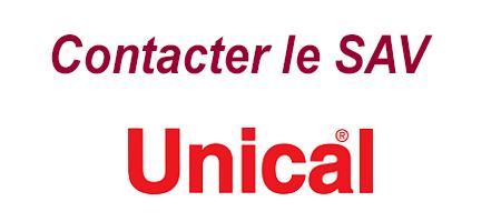 Joindre le SAV Unical par téléphone, mail et adresse